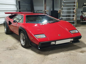1977 Lamborghini countach prova For Sale