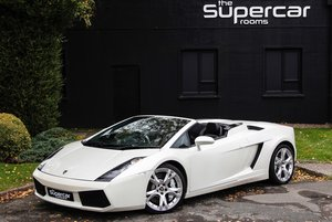 Lamborghini Gallardo Spyder - 2008 - Balloon White  For Sale