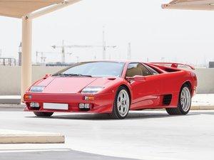 1999 Lamborghini Diablo VT  For Sale by Auction