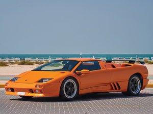 1999 Lamborghini Diablo VT Roadster  For Sale by Auction