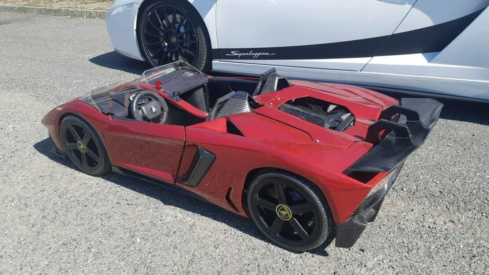 2017 The Only Working 1/3 Scale Aventador In The World  For Sale (picture 1 of 6)