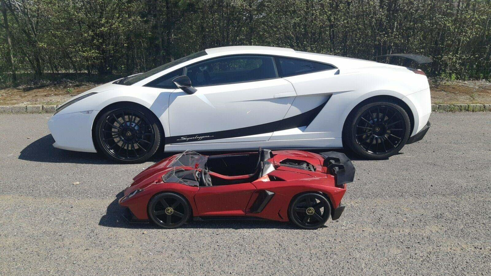 2017 The Only Working 1/3 Scale Aventador In The World For Sale (picture 2 of 6)