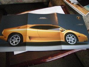 2001 Lamborghini Diablo 6.0 litre For Sale