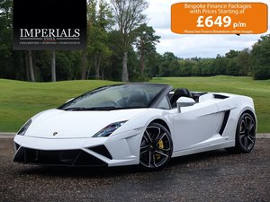 2013 Lamborghini  GALLARDO  5.2 LP 560-4 SPYDER CABRIOLET E-GEAR  For Sale