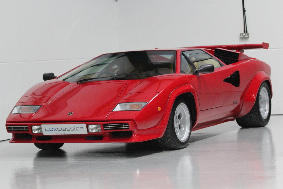 1983 Lamborghini Countach LP500 S RIGHT HAND DRIVE For Sale (picture 1 of 6)