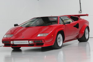 1983 Lamborghini Countach LP500 S RIGHT HAND DRIVE