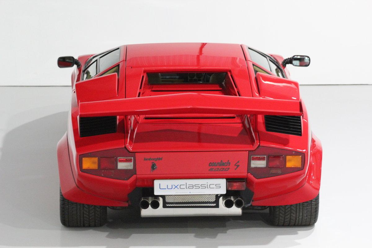 1983 Lamborghini Countach LP500 S RIGHT HAND DRIVE For Sale (picture 3 of 6)