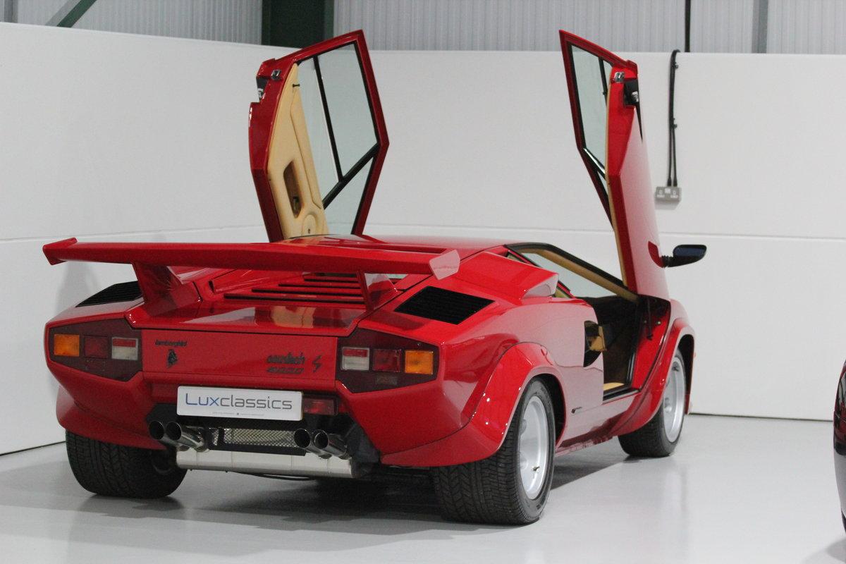 1983 Lamborghini Countach LP500 S RIGHT HAND DRIVE For Sale (picture 4 of 6)