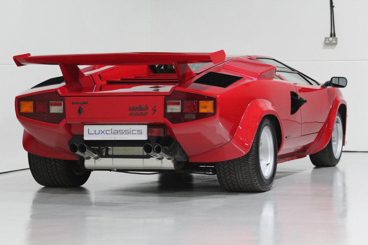 1983 Lamborghini Countach LP500 S RIGHT HAND DRIVE For Sale (picture 6 of 6)
