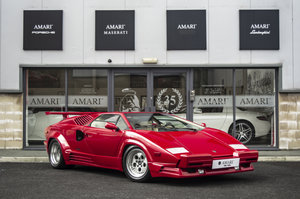 1990 G Lamborghini Countach 25th Anniversary LHD For Sale