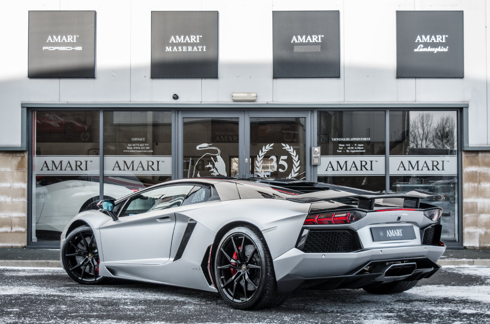 2016 65 Lamborghini Aventador Pirelli Coupe Limited Edition For Sale (picture 3 of 6)