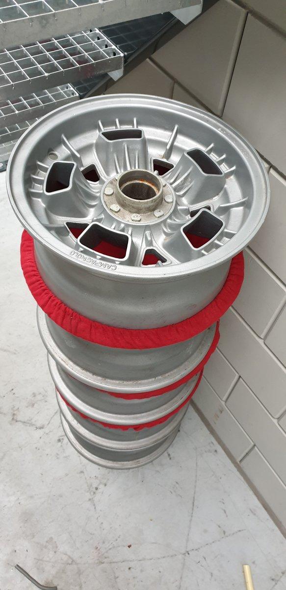 1965 5 Lamborghini campagnolo wheels For Sale (picture 1 of 4)