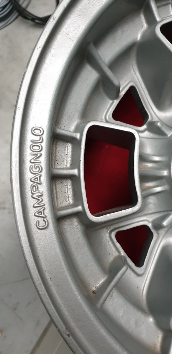 1965 5 Lamborghini campagnolo wheels For Sale (picture 2 of 4)