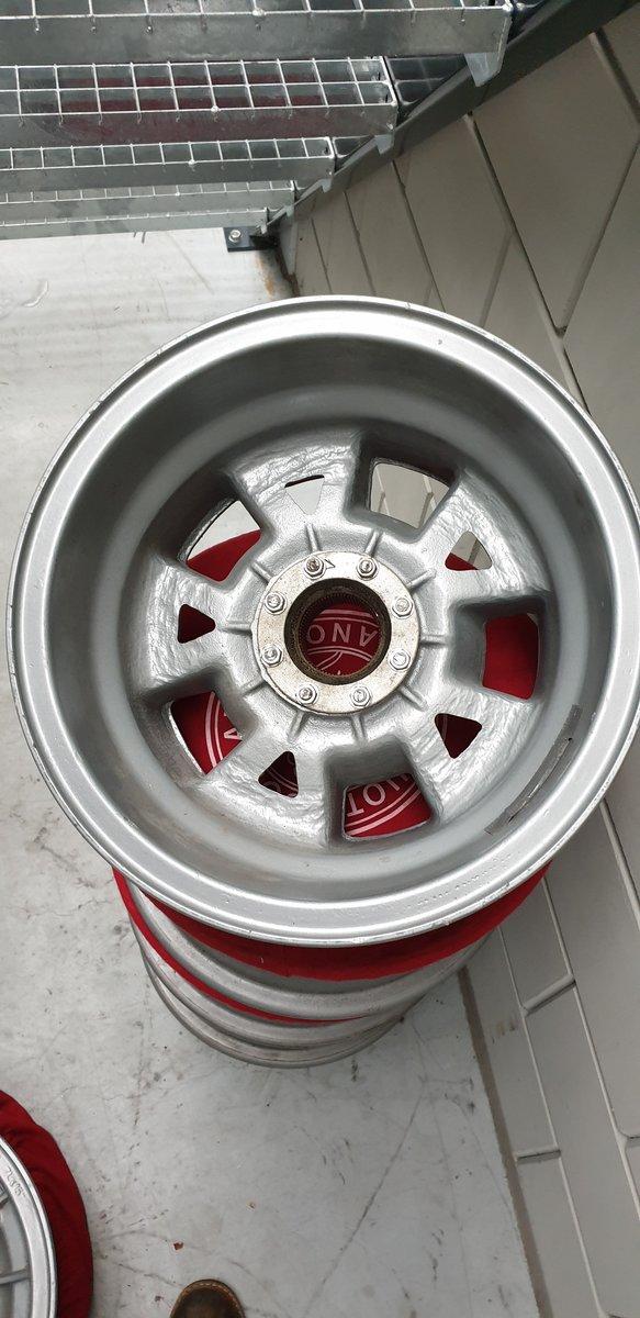1965 5 Lamborghini campagnolo wheels For Sale (picture 3 of 4)