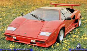 Lamborghini countach franco sbarro body kit