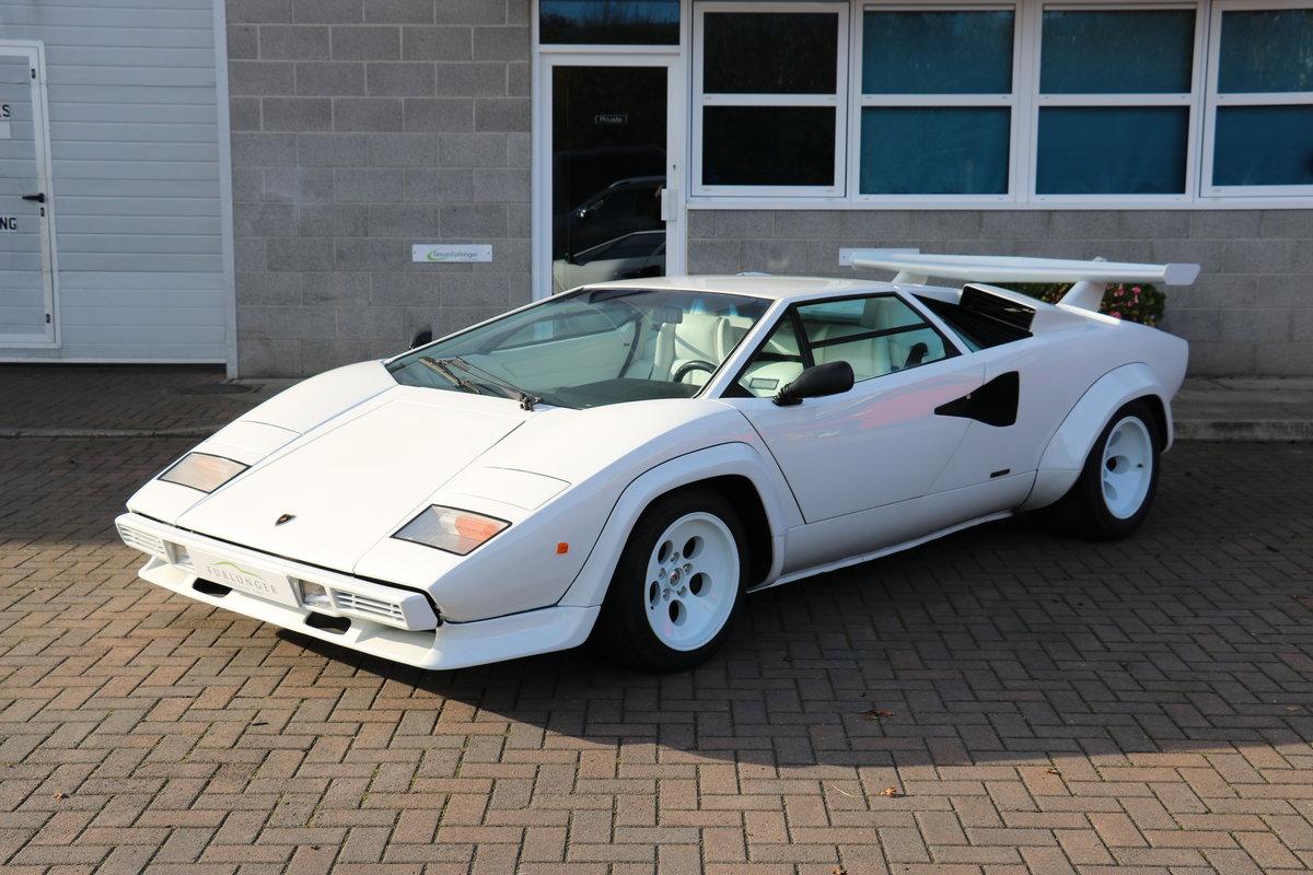 1984 Lamborghini Countach 5000S - LHD - Low KM's! For Sale (picture 1 of 6)