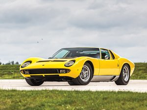 1969  Lamborghini Miura P400 SV Specification by Bertone