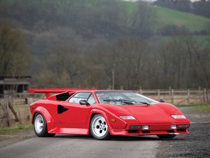 1981 Lamborghini Countach LP500 S by Bertone