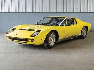 1968 Lamborghini Miura P400 by Bertone
