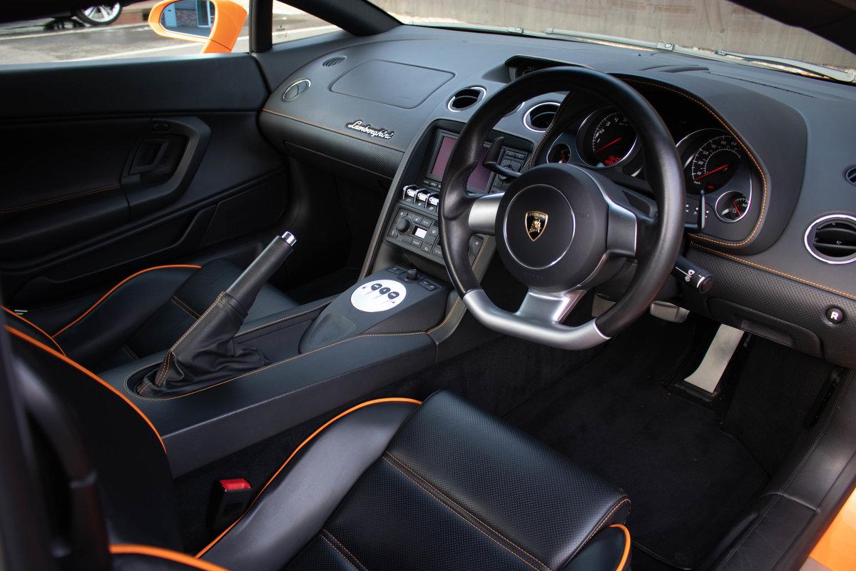 2008/58 Lamborghini Gallardo LP560-4 For Sale (picture 5 of 6)