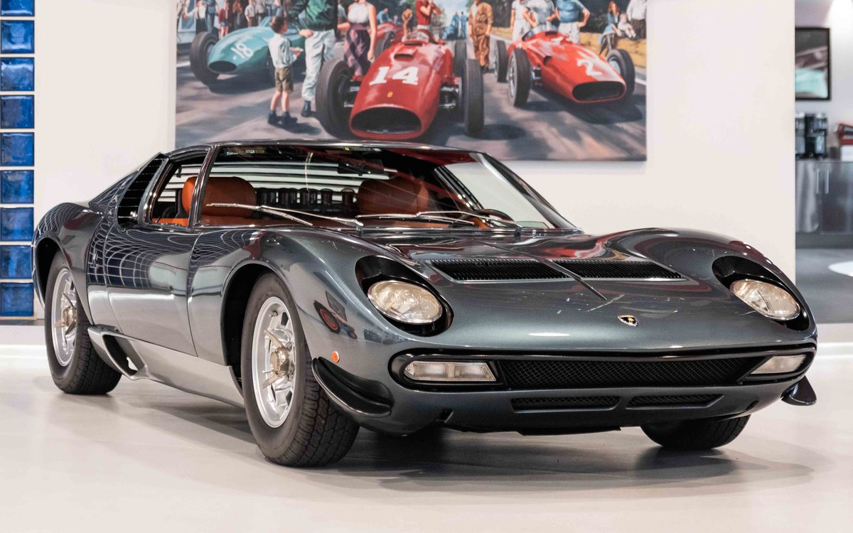 1972 Lamborghini Miura SV For Sale (picture 1 of 16)