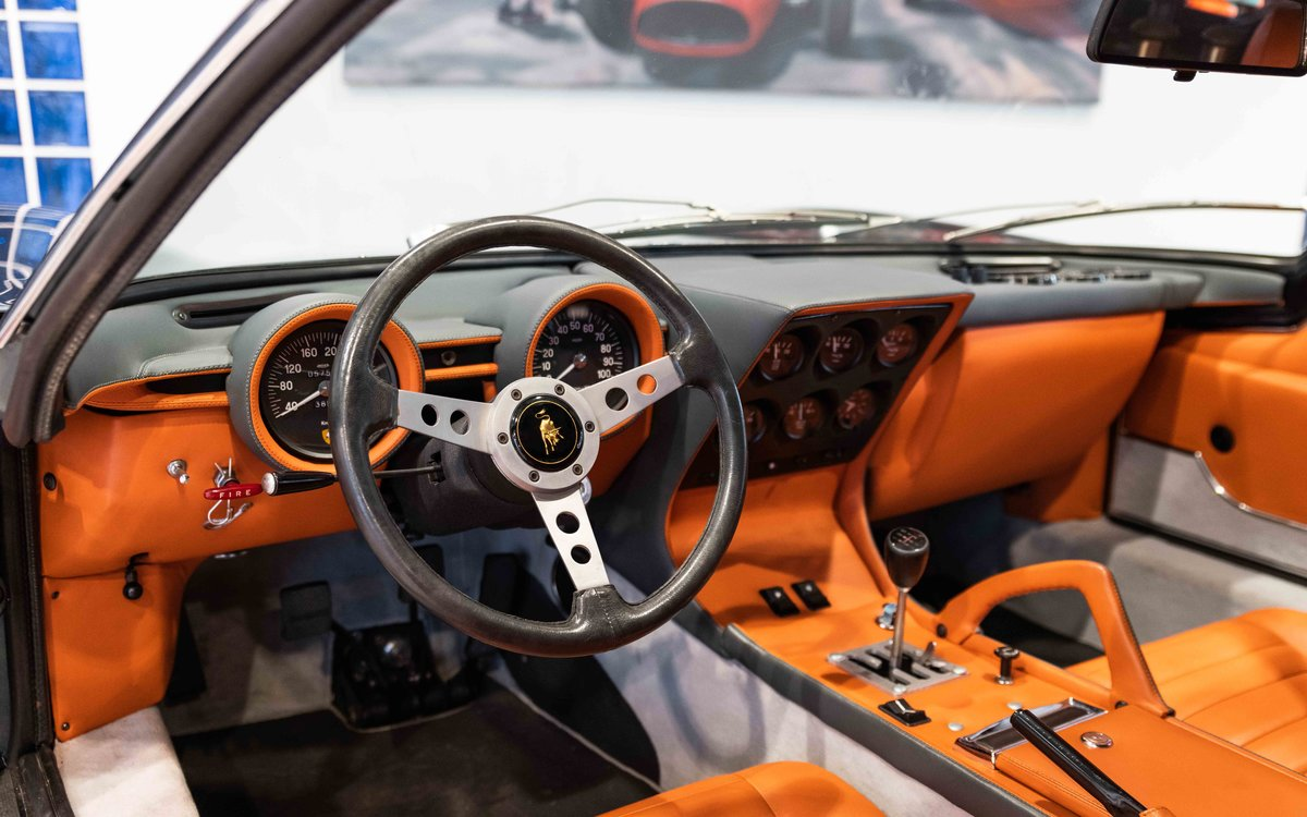 1972 Lamborghini Miura SV For Sale (picture 12 of 16)