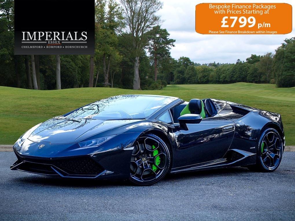 2016 Lamborghini  HURACAN  LP 610-4 SPYDER CABRIOLET VAT Q 7 SPEE For Sale (picture 1 of 24)