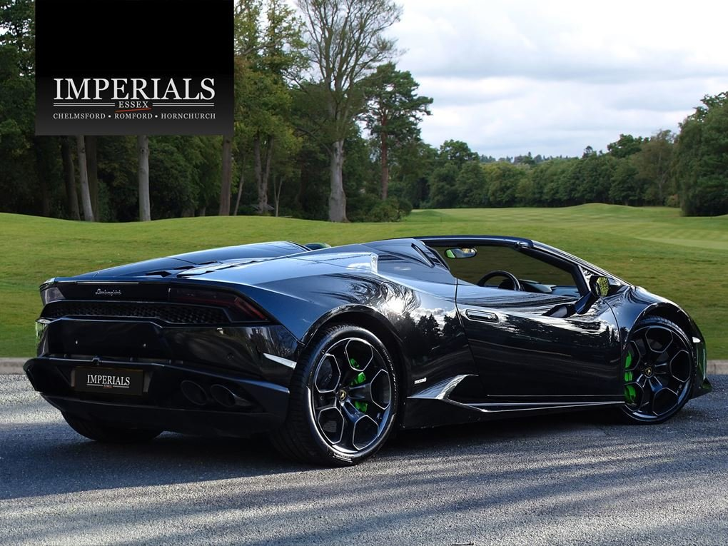 2016 Lamborghini  HURACAN  LP 610-4 SPYDER CABRIOLET VAT Q 7 SPEE For Sale (picture 4 of 24)
