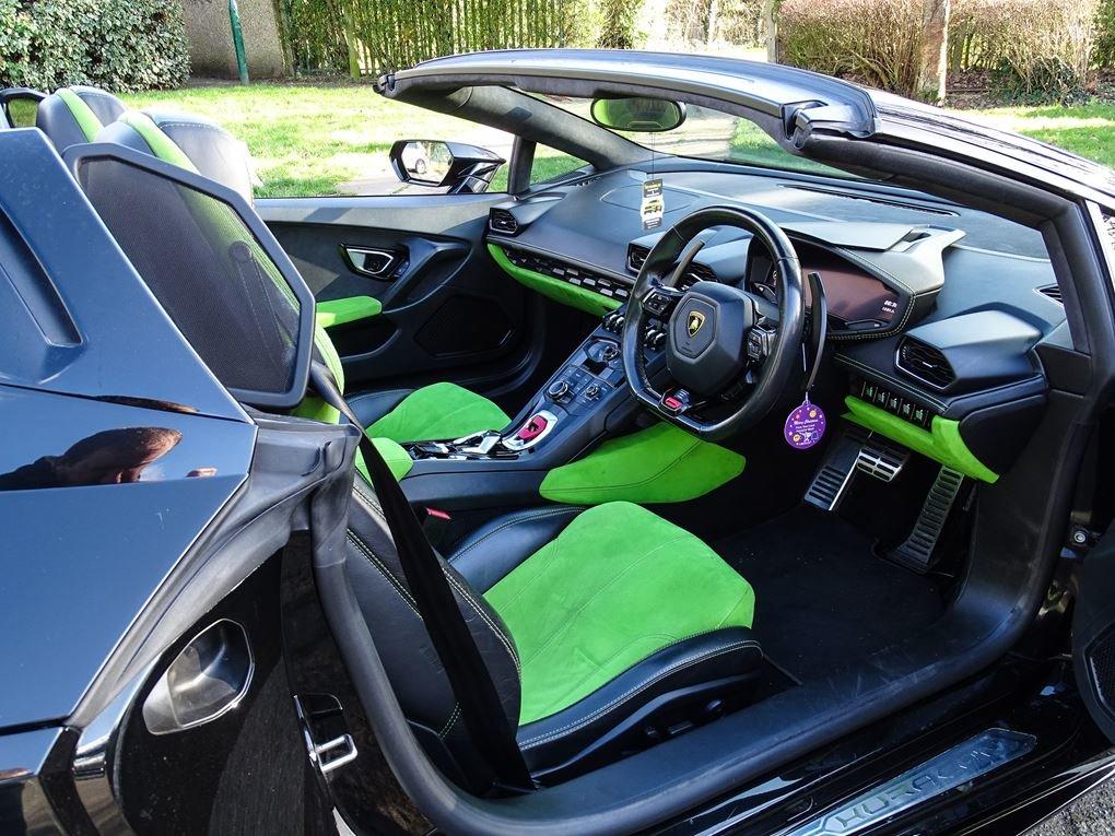 2016 Lamborghini  HURACAN  LP 610-4 SPYDER CABRIOLET VAT Q 7 SPEE For Sale (picture 23 of 24)