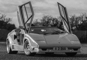 1990 Lamborghini Countach 25th Anniversary, 1 owner, 3962 miles