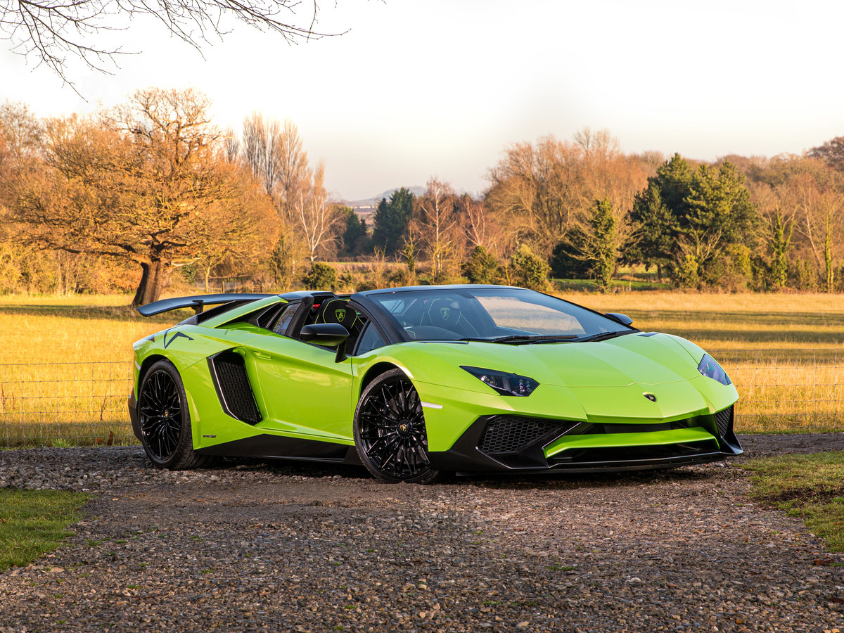 2016 Aventador SV Roadster LP750-4 For Sale (picture 1 of 6)
