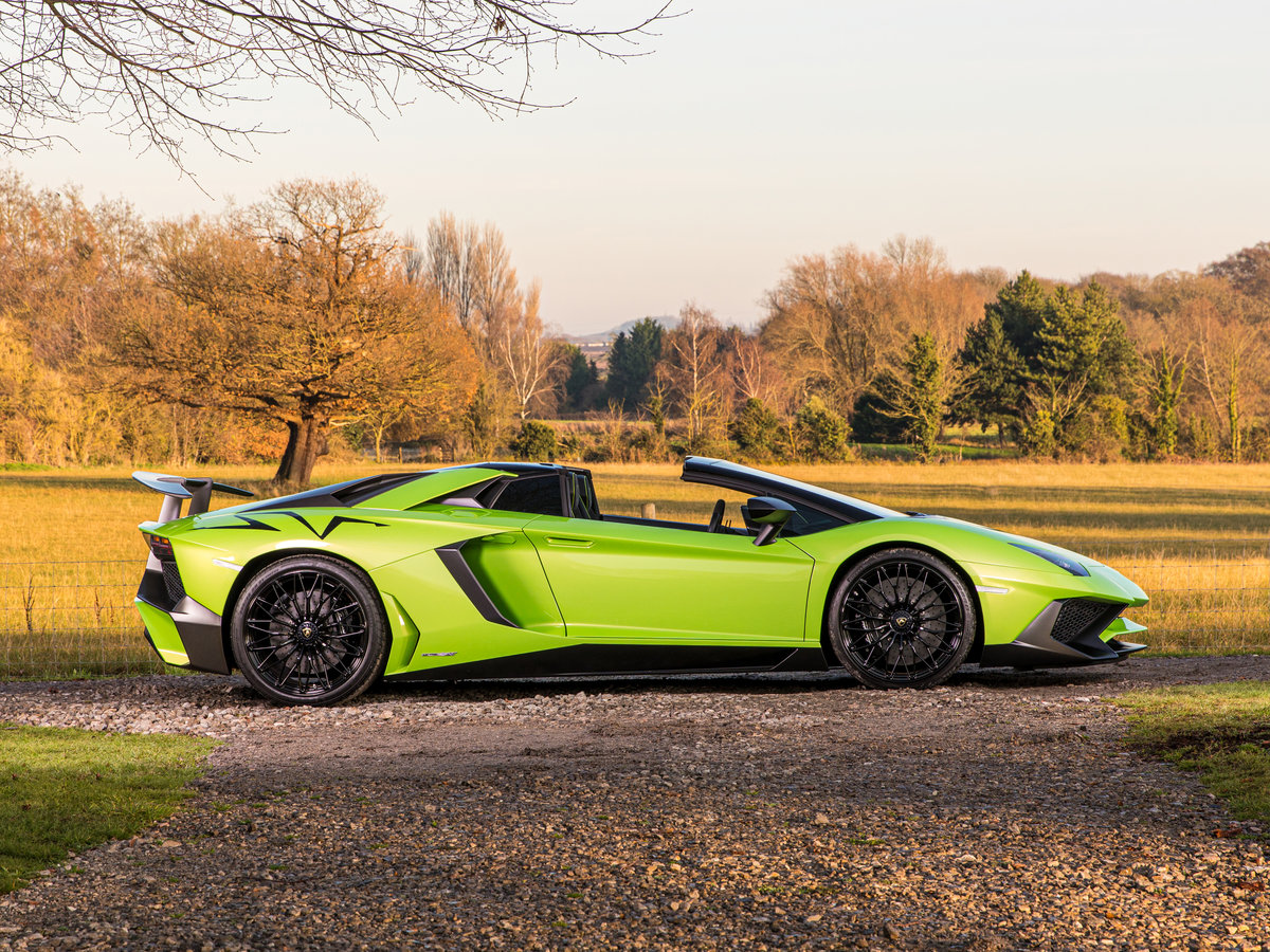 2016 Aventador SV Roadster LP750-4 For Sale (picture 2 of 6)