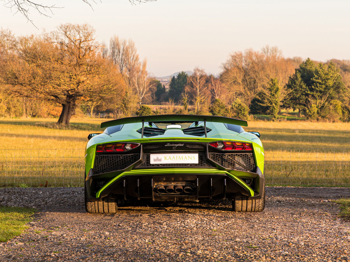 2016 Aventador SV Roadster LP750-4 For Sale (picture 3 of 6)