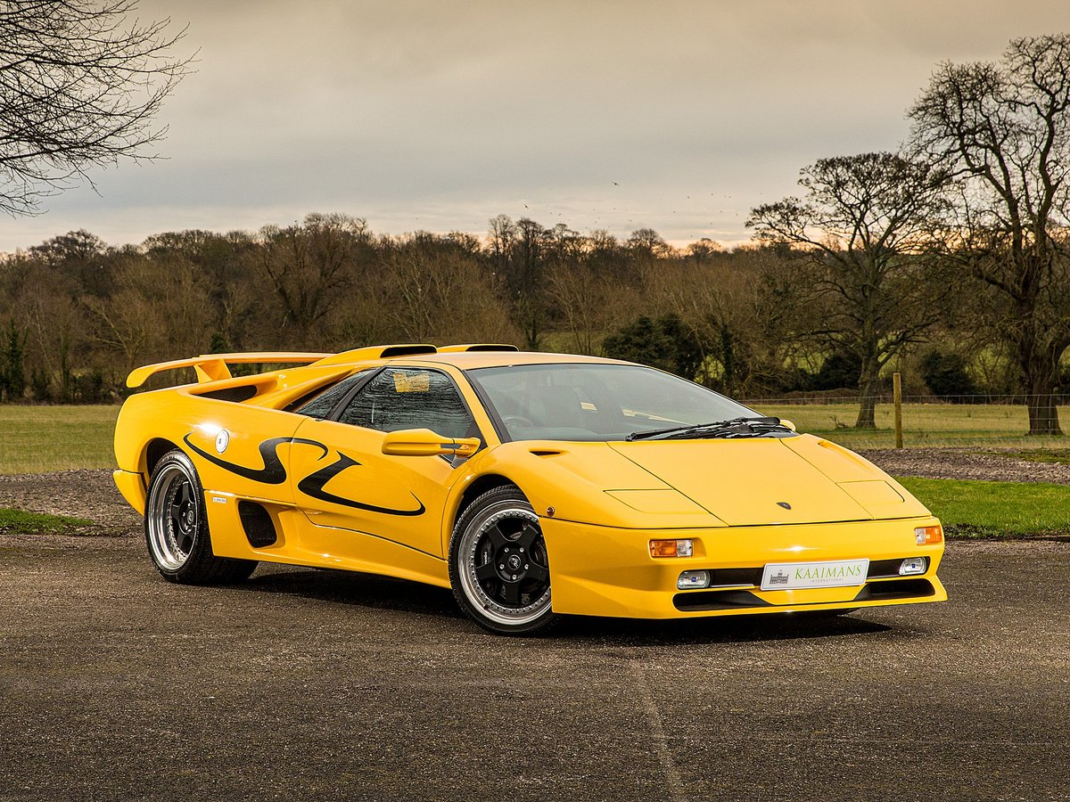 1998 Lamborghini Diablo SV coupe For Sale (picture 1 of 6)