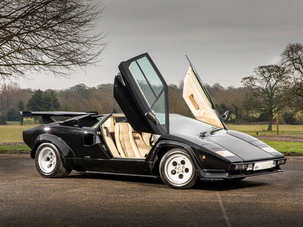 1983 Lamborghini Countach 5000s Right Hand Drive For Sale (picture 2 of 6)