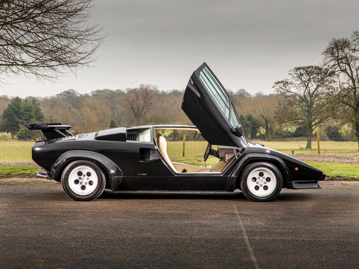 1983 Lamborghini Countach 5000s Right Hand Drive For Sale (picture 4 of 6)