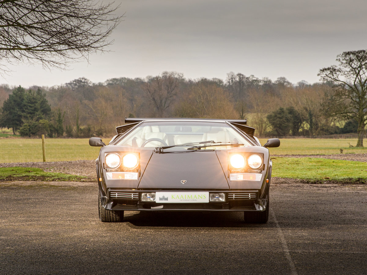 1983 Lamborghini Countach 5000s Right Hand Drive For Sale (picture 6 of 6)