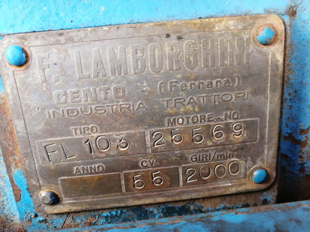 1967 Lamborghini tractor, original For Sale (picture 2 of 5)