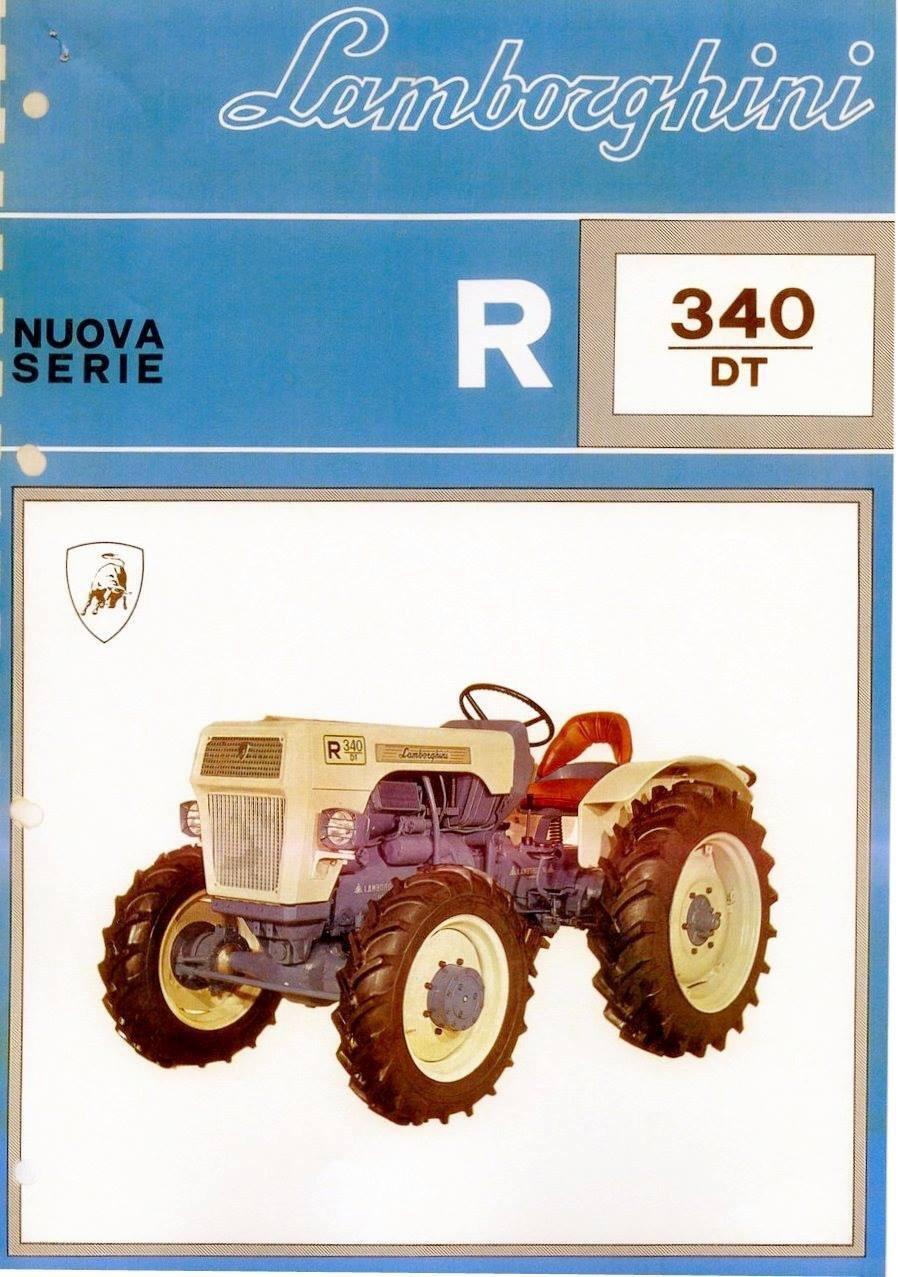 1967 Lamborghini tractor, original For Sale (picture 5 of 5)