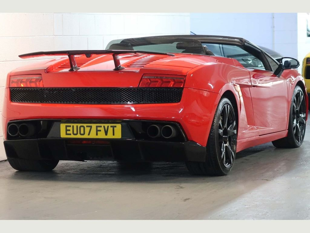 2007 Lamborghini Gallardo 5.0 V10 Spyder E-Gear 4WD For Sale (picture 3 of 6)