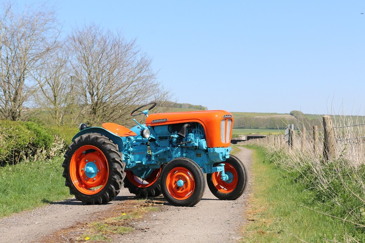 1959 LAMBORGHINETTA SMALL DIESEL TRACTOR For Sale (picture 1 of 6)