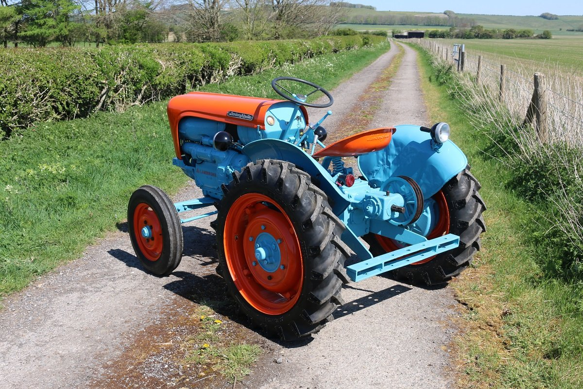 1959 LAMBORGHINETTA SMALL DIESEL TRACTOR For Sale (picture 3 of 6)