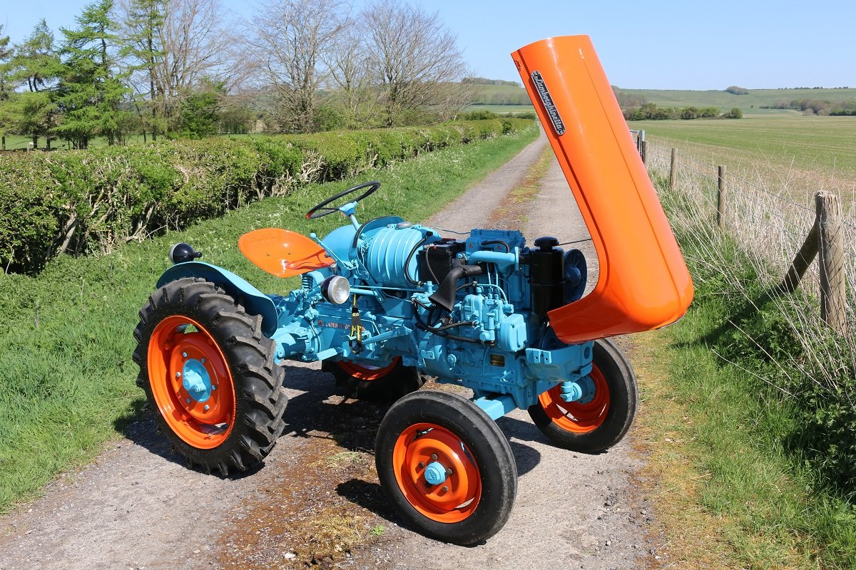 1959 LAMBORGHINETTA SMALL DIESEL TRACTOR For Sale (picture 6 of 6)