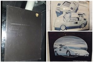 Picture of 0000 LAMBORGHINI MEMORABILIA AND SALES BROCHURES