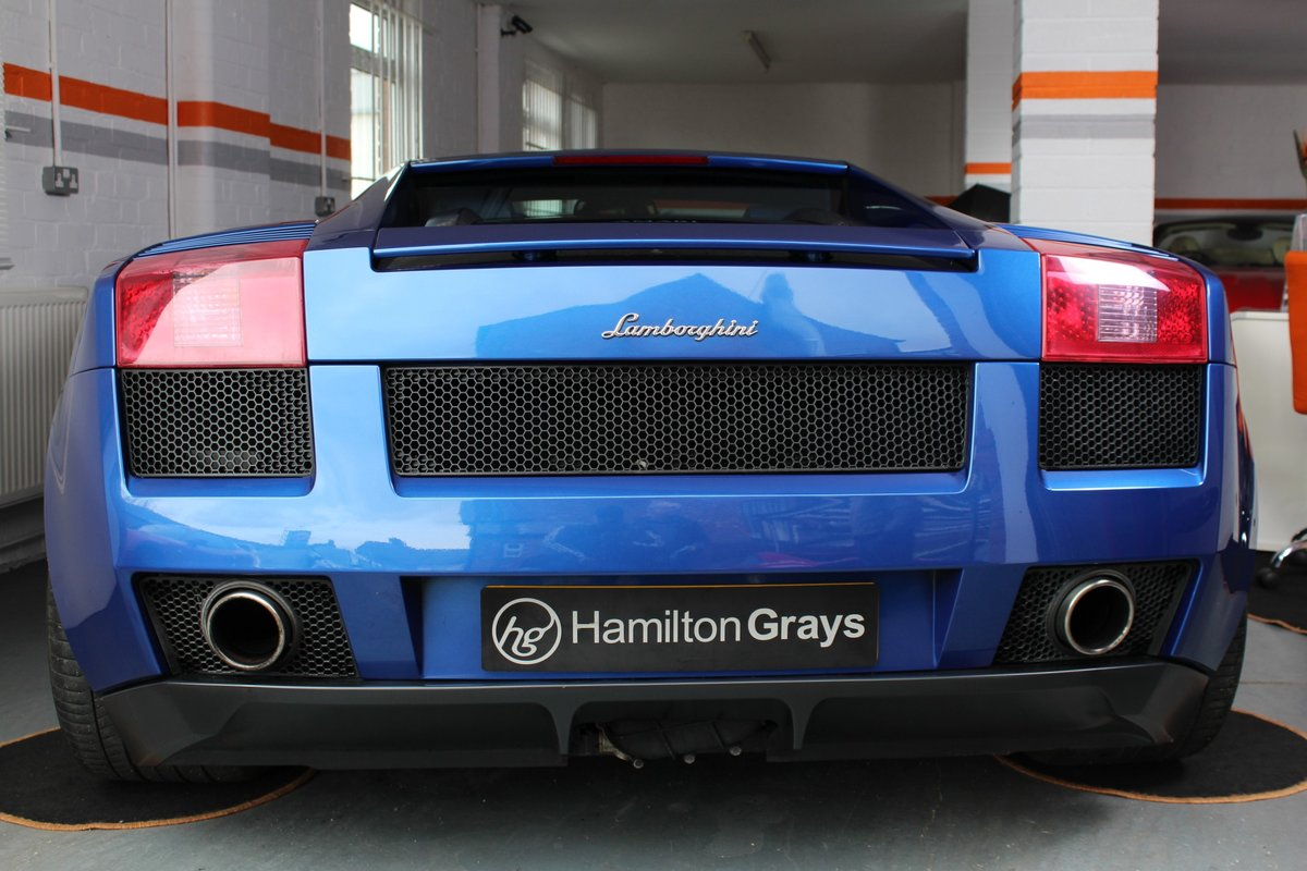 2005 (05) Lamborghini Gallardo 5.0 V10. Blu Caelem  For Sale (picture 5 of 6)