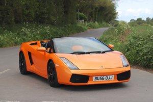 Lamborghini Gallardo 5.0L V10 Spyder E-Gear 4WD. 2007 / 56. For Sale