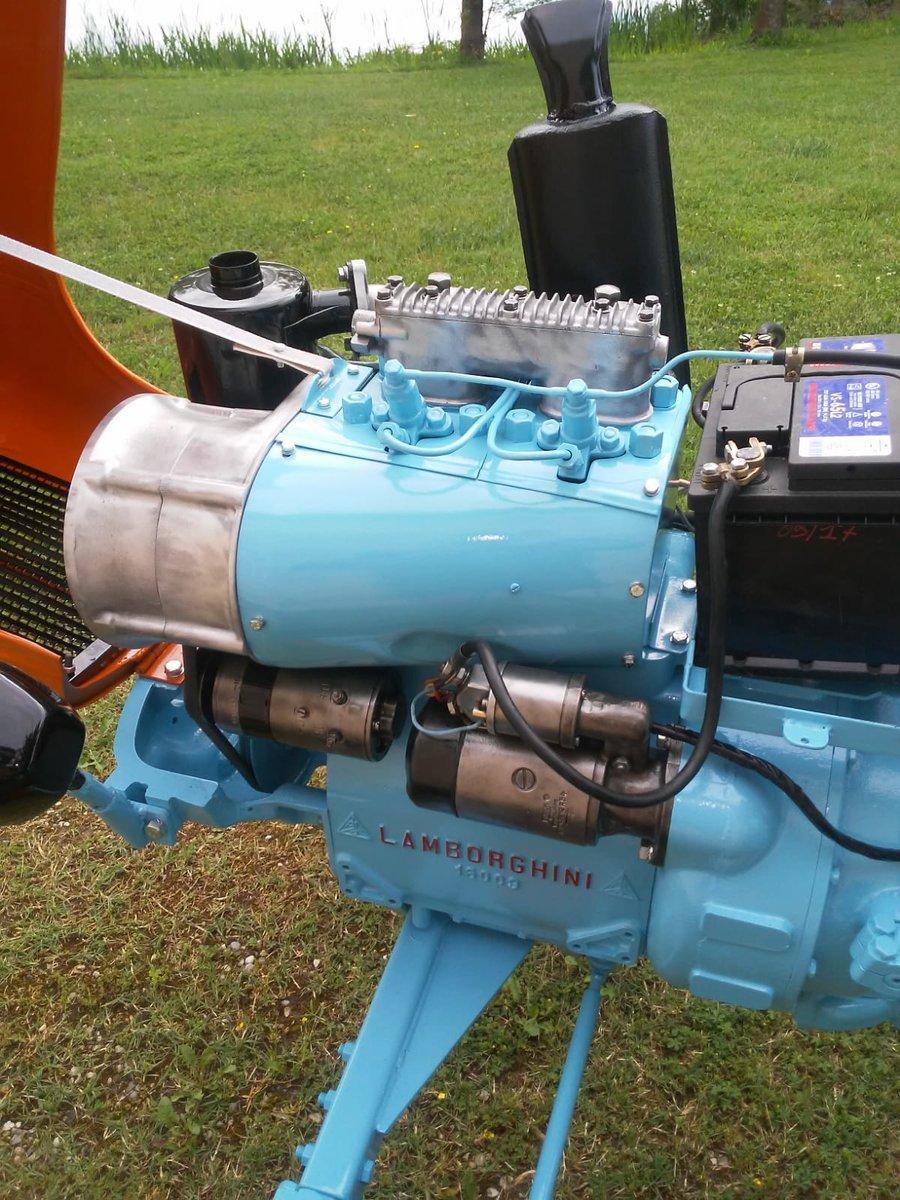 1960 Lamborghini tractor oldtimer 2241R restoration SOLD (picture 6 of 6)