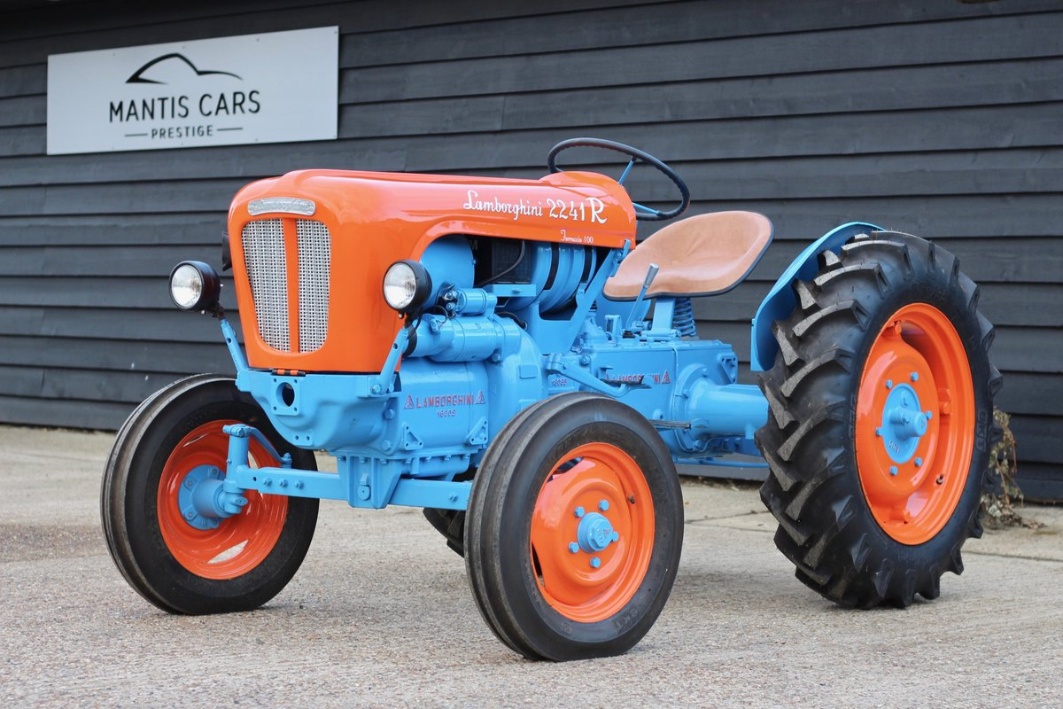 1960 BEAUTIFUL LAMBORGHINI TRACTOR T224 1R For Sale (picture 1 of 6)