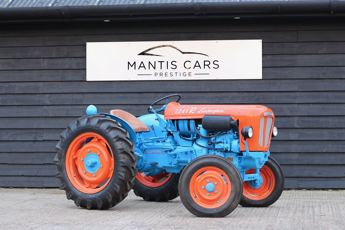 1960 BEAUTIFUL LAMBORGHINI TRACTOR T224 1R For Sale (picture 2 of 6)