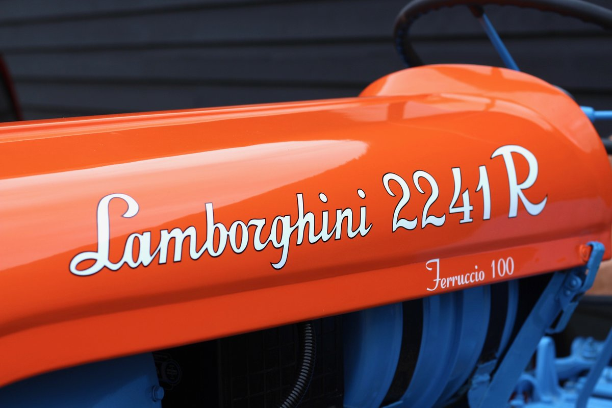 1960 BEAUTIFUL LAMBORGHINI TRACTOR T224 1R For Sale (picture 3 of 6)